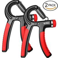 Hand Grip Strengthener, ANKO Adjustable Resistance 22-88 LB Strength Trainer Non-Slip Gripper Arm Hand Exerciser Perfect for Musicians and Sports Enthusiasts.