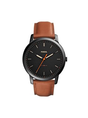 Fossil Men's Minimalist Three-Hand Leather Watch (Style: FS5305)