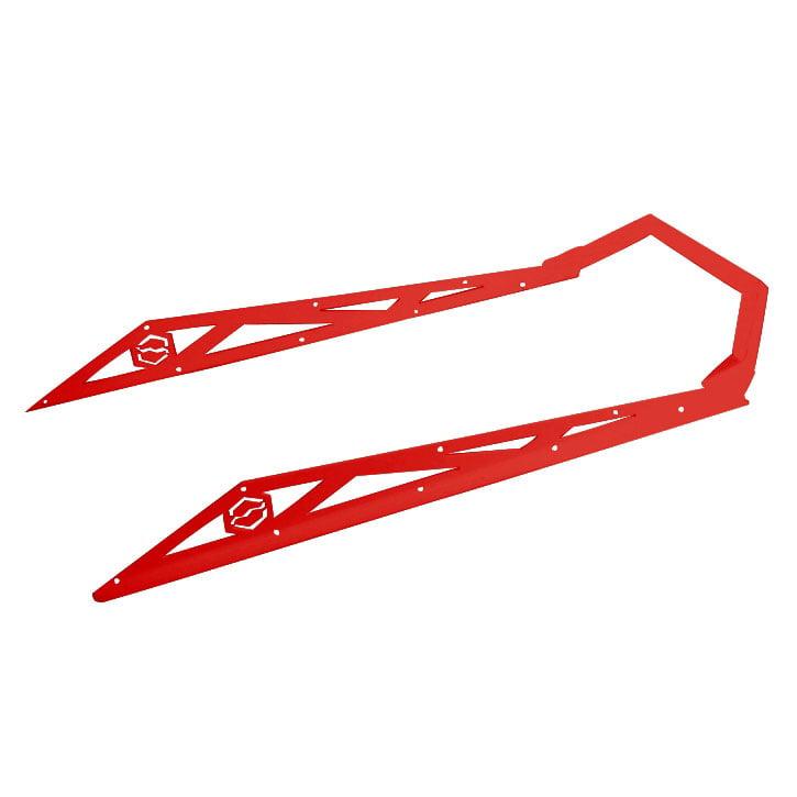 ITEK Bumper Powdercoat Series Ski-doo Red  #333510