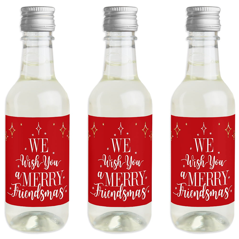 Vinyl Decal Sticker for Wine bottle diy YOU DON/'T NEED A CERTAIN NUMBER FRIENDS