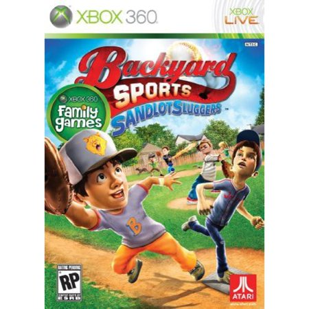 backyard sports sandlot sluggers xbox 360