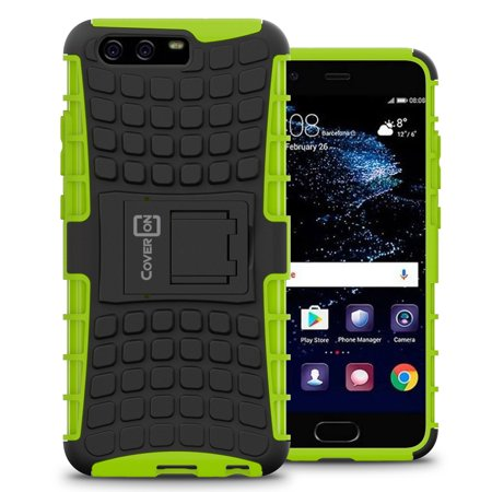 CoverON Huawei P10 Case, Atomic Series Slim Protective Kickstand Phone Cover](huawei p10 plus price in usa)
