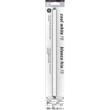 GE 15987 8-Watt 12-Inch T5 Fluorescent Light Bulb, Cool