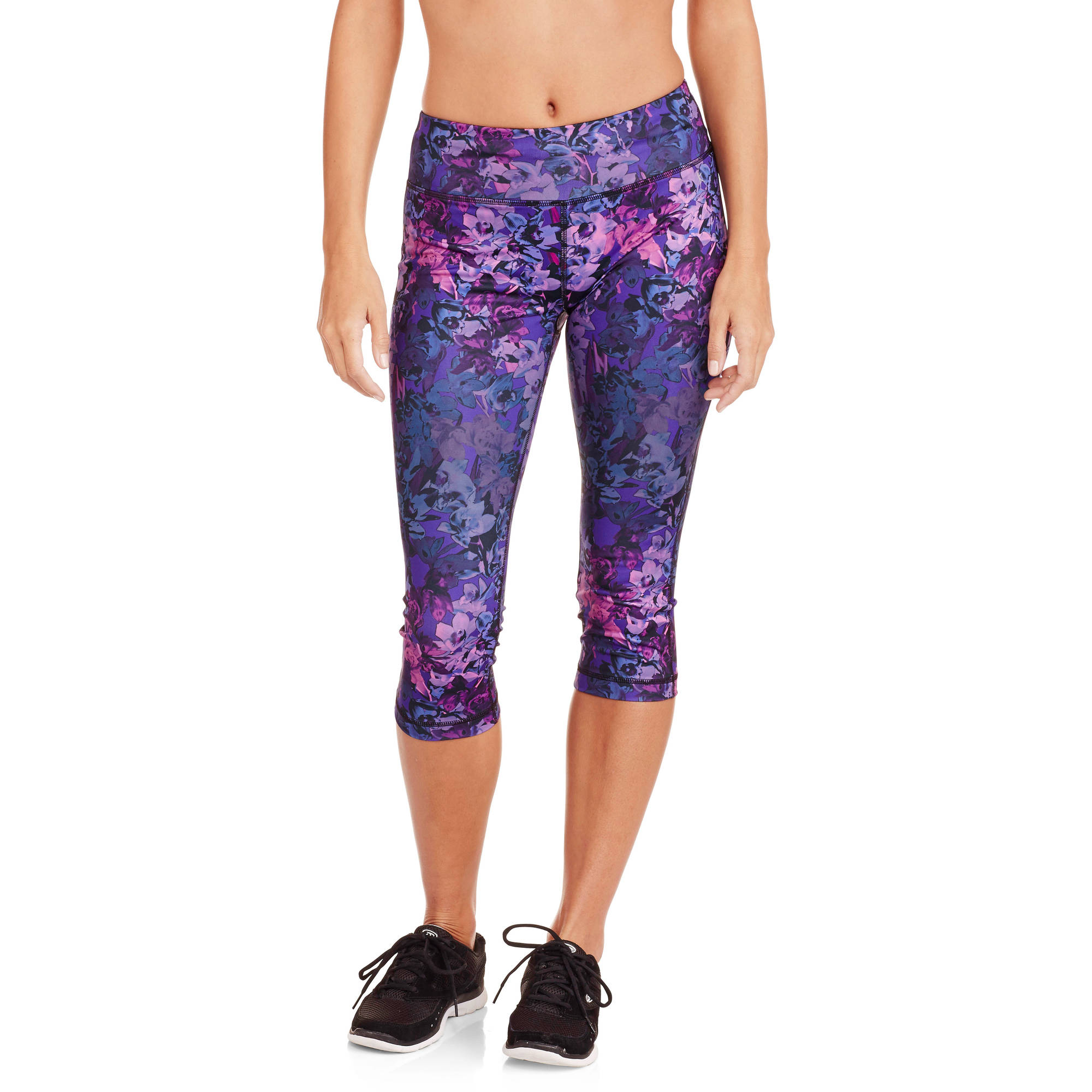 "Danskin Now Women's Allover Printed 19"" Capri Tight"