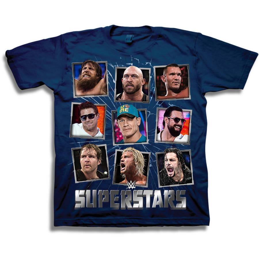 Boys' Superstars Short Sleeve T-Shirt