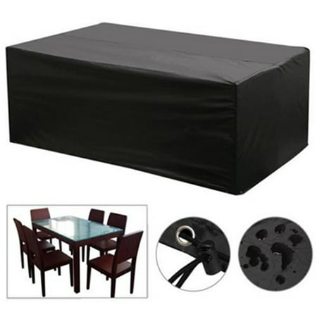 Waterproof Garden Patio Furniture Covers for Rattan Table Cube Seat