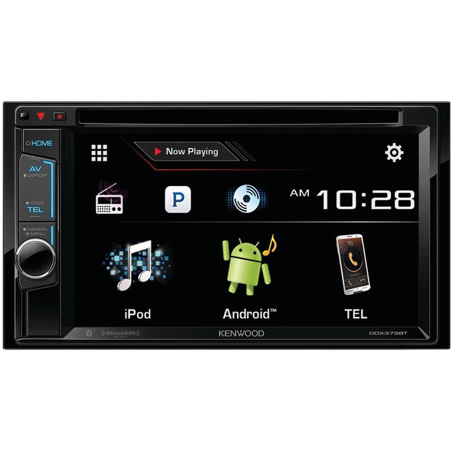"Kenwood DDX373BT 6.2"" Double-DIN DVD Receiver with Bluetooth, Siri Eyes-Free, Pandora Internet Radio and... by Kenwood"