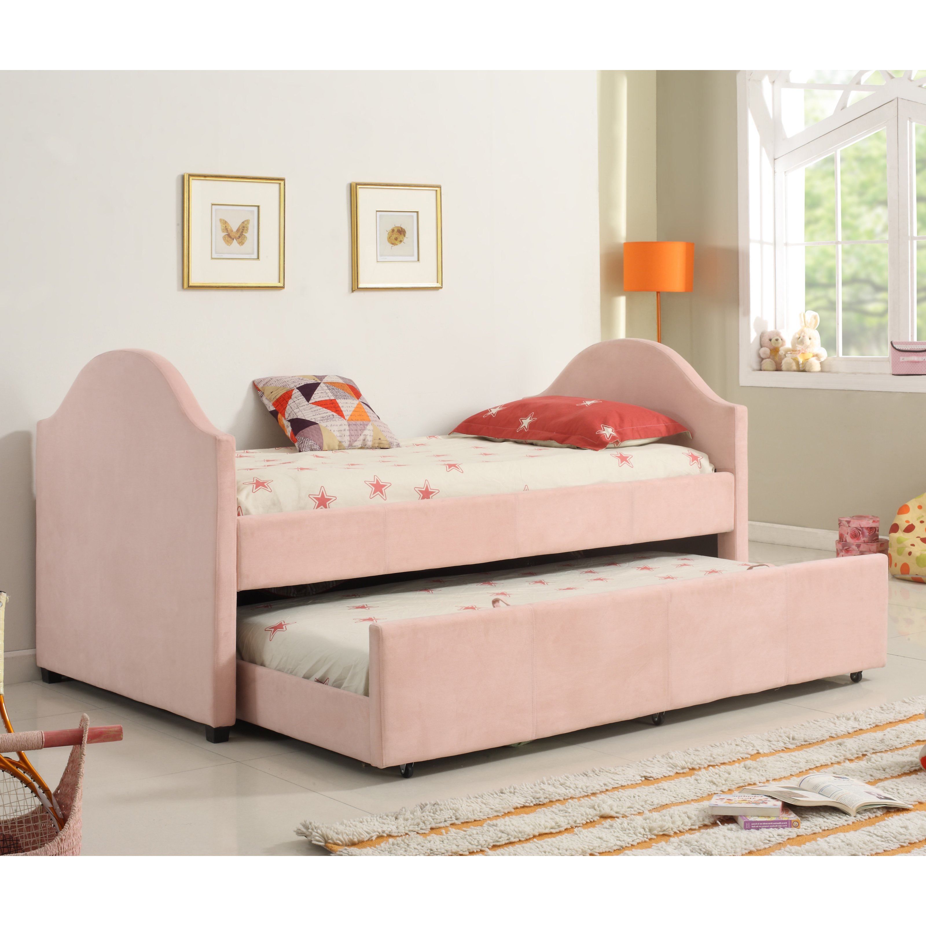 Milton Greens Jeffrey Captains Bed with Twin Size Trundle Bed