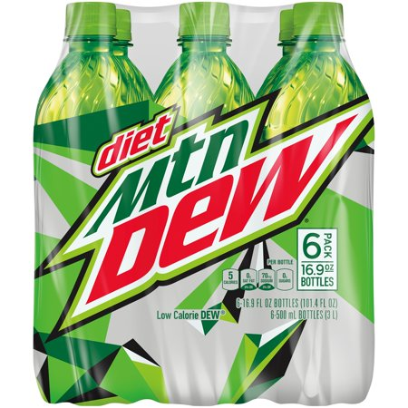 Diet Mountain Dew  16 9 Fl Oz  6 Ct