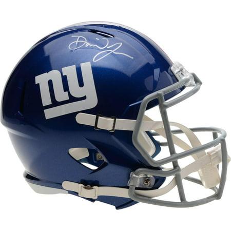 Daniel Jones New York Giants Autographed Riddell Speed Replica Helmet - Fanatics Authentic Certified Giants Replica Helmet