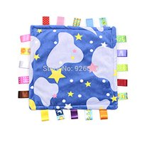 Taggies Colors & Style SECURITY BLANKET LOVEY, Starry Night Blue Sky Moon