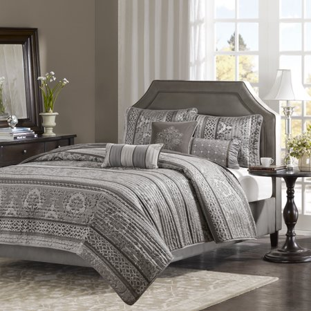 Home Essence Mirage 6 Piece Jacquard Quilted Coverlet Set