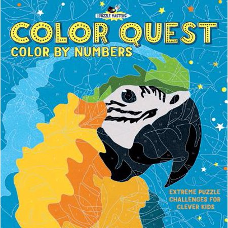 Color Quest: Color by Numbers : Extreme Puzzle Challenges for Clever Kids - Extreme Weather Kids