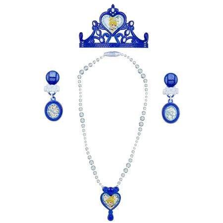 Disney Princess Cinderrella Enchanted Evening Jewelry Set