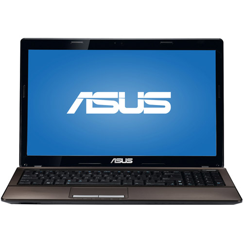 """ASUS 15.6"""" K53E-DS51 Laptop PC with Intel i5-2450M Processor and Windows 7 Home Premium Option with Windows 8 Pro Upgrade Option"""