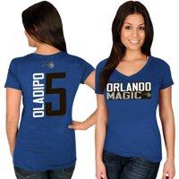 Victor Oladipo Orlando Magic Majestic Women's Name & Number V-Neck T-Shirt - Blue