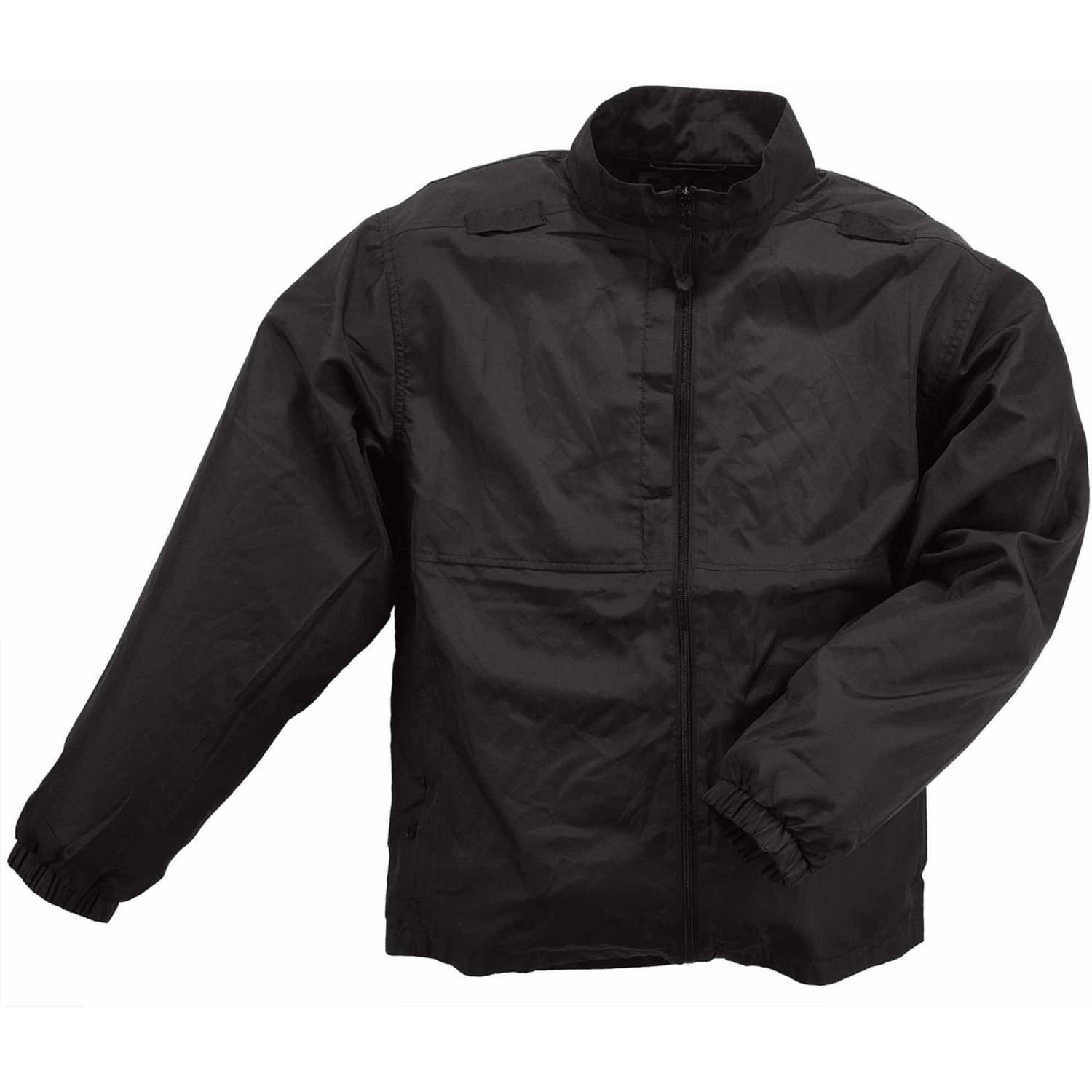 5.11 Tactical Men Packable Jacket, Black, Large thumbnail