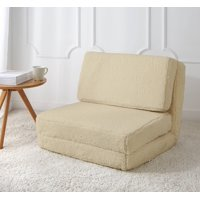 Your Zone Sherpa Flip Chair, Available in Multiple Colors