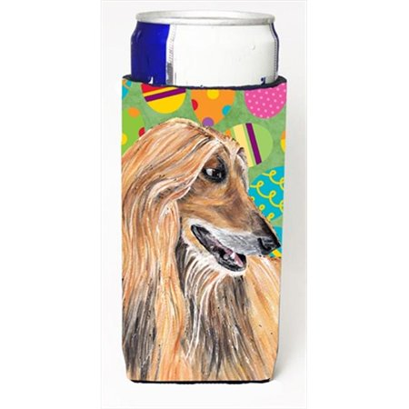 Afghan Hound Easter Eggtravaganza Michelob Ultra bottle sleeves For Slim Cans - 12 Oz. - image 1 de 1
