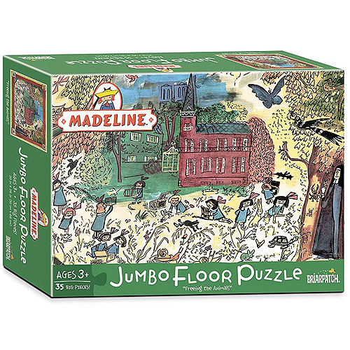 "Madeline, ""Freeing the Animals"" Jumbo Floor Puzzle, 35 Pieces by Briarpatch"
