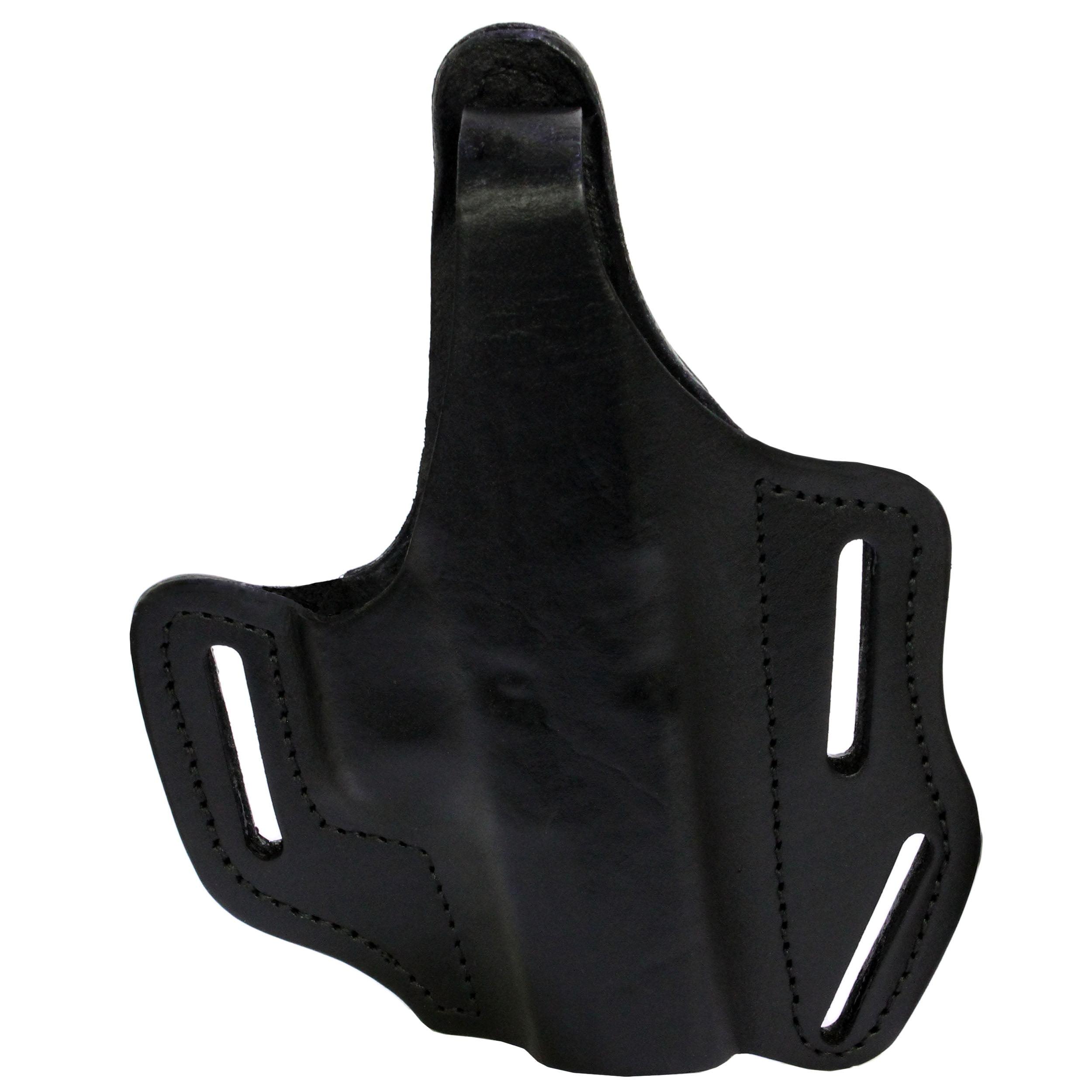 Frontline Multi Purpose Pancake Leather Holster Glock 30, Black, Right Hand
