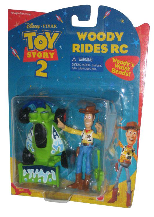 Disney Pixar Toy Story 2 Woody Rides RC Mattel Figure Set by Mattel
