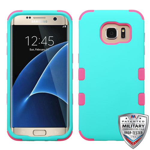 For Samsung Galaxy S7 Edge Shockproof TUFF Hybrid Phone Protector Case Cover
