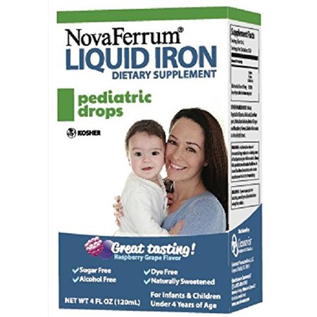 Novaferrum Pediatric Drops Liquid Iron Supplement For Infants And Toddlers 4