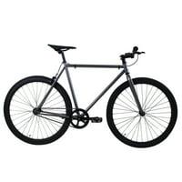 Golden Cycles Asphalt Metallic Grey/Black Fixed Gear 55 cm
