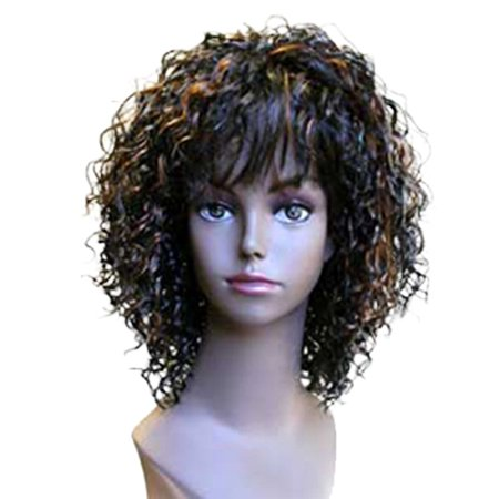 Fashion women short curly E DELORES professional wig