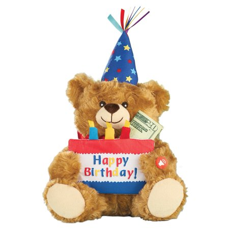 Musical Happy Birthday Plush Bear By Collections Etc - Bear Birthday