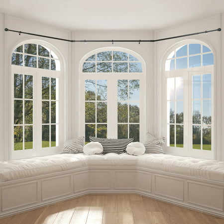 Better Homes Gardens Bay Window Adjustable Drapery Rod Set