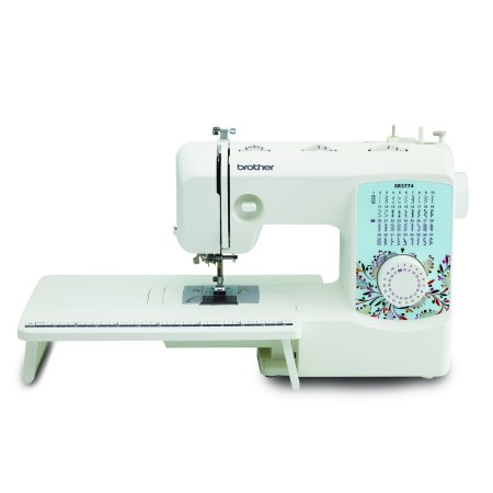 Brother 37 Stitch Full Featured Sewing And Quilting Machine With 8 Sewing Feet  Wide Table And Instructional Dvd  Xr3774