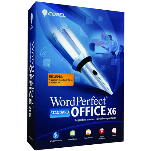 WordPerfect Office X6 Standard Edition (Full Version)