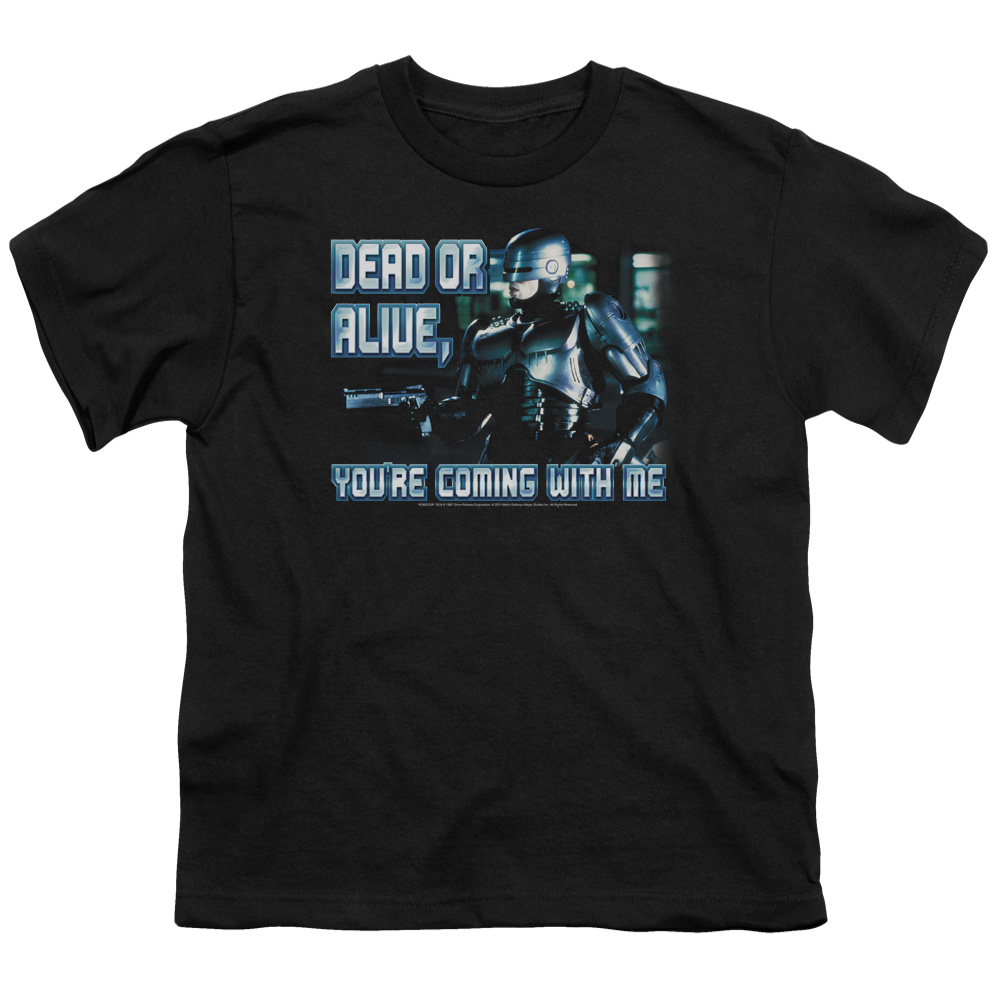 Mgm Robocop Dead Or Alive Big Boys Shirt