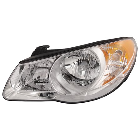 2007-2010 Hyundai Elantra New Driver Side Halogen-Type Headlight HY2502138