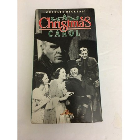 A Christmas Carol-VHS-TESTED-RARE VINTAGE COLLECTIBLE-SHIPS N 24 HOURS ()