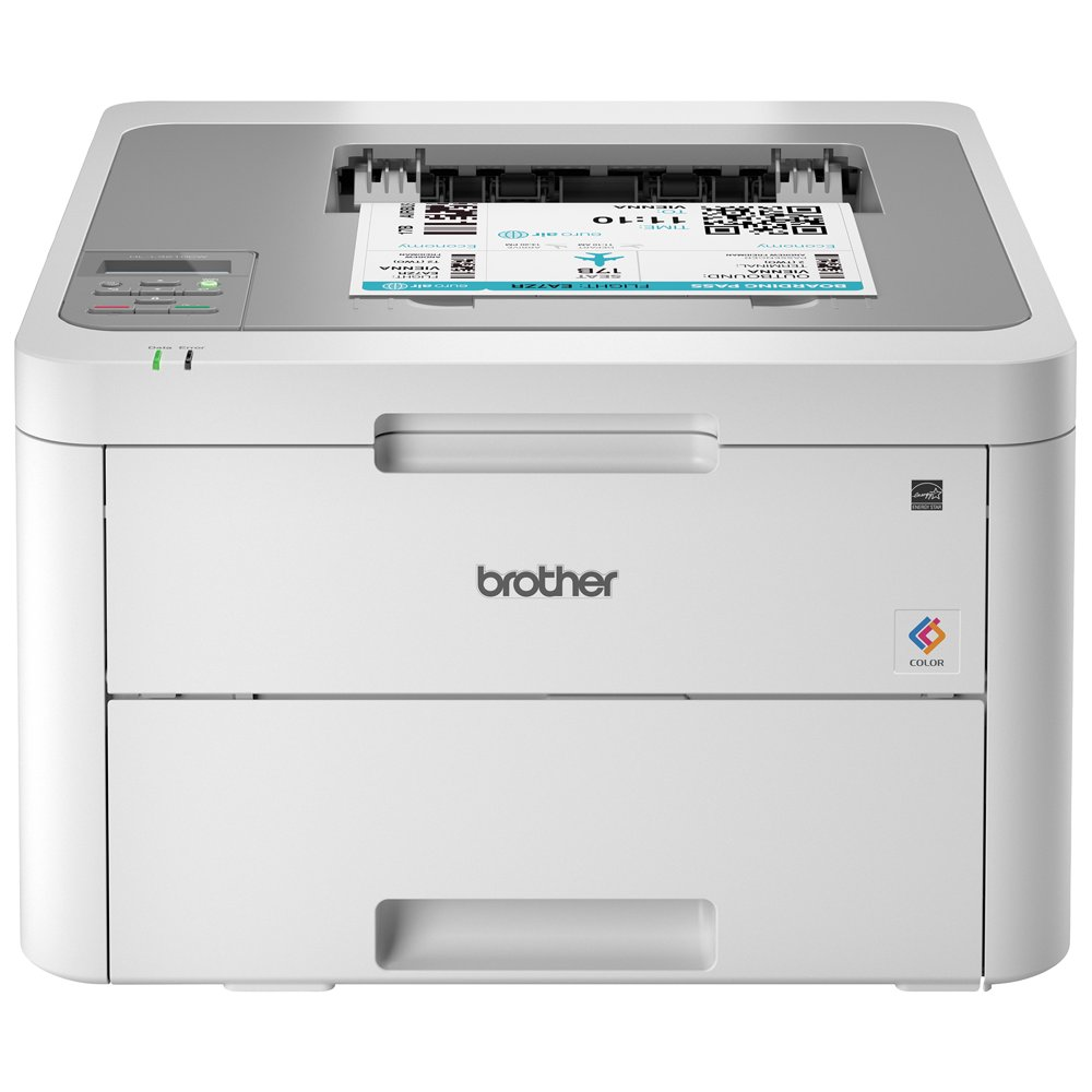 Brother HL-L3210CW Compact Wireless Digital Color Printer, Mobile Device Printing, Wireless