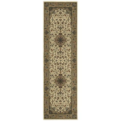 Astoria Grand Bayhills Ivory/Gold Area Rug