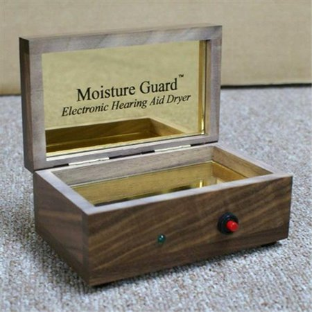 Harris Communications MG-1 Walnut Moisture Guard Walnut Electronic Hearing Aid Dryer
