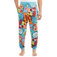 Nickelodeon Men's Spongebob Comic Pop Pajama Sleep Pant