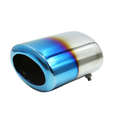 111 x 69mm Inlet Stainless Steel Car Exhaust Pipe Muffler for Buick Legal - image 3 de 3