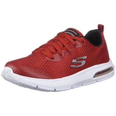 Skechers Kids Boys' DYNA-AIR-Quick Pulse Sneaker, Red, 4.5 M US Big Kid