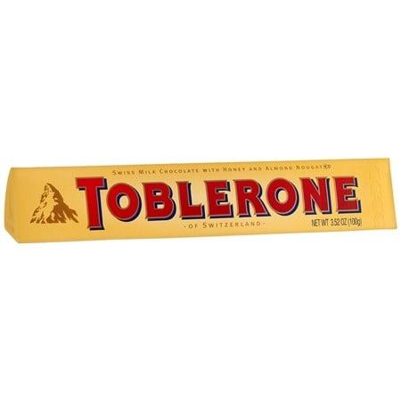 TOBLERONE CHOCOLATE BAR MILK CHOCOLATE 20X3.52 OZ