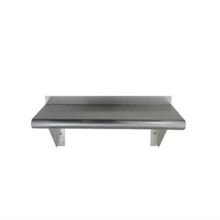 Stainless Steel Wall Mount Shelf NSF Approved 12