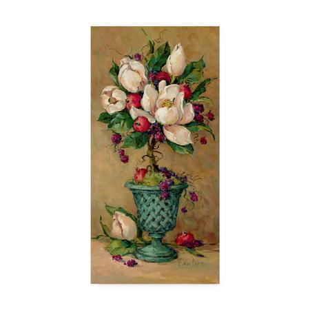 Trademark Fine Art ' Magnolia Cluster Topiary' Canvas Art by Barbara - Topiary Art Designs