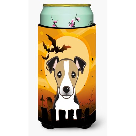 Halloween Jack Russell Terrier Tall Boy Beverage Insulator Hugger BB1819TBC - Chris Russell Halloween