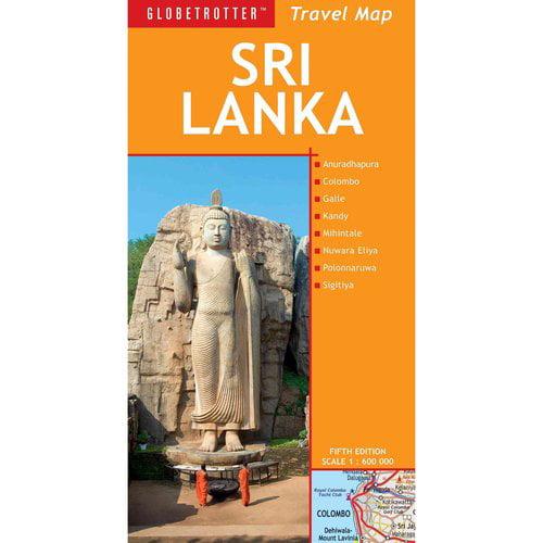 Globetrotter Sri Lanka Travel Map