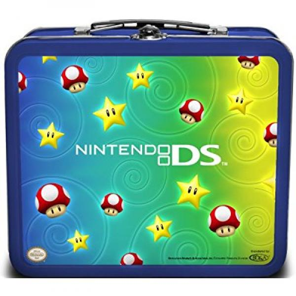Nintendo DS Lite Accessory Tin Kit - Stars & Mushrooms(DS)