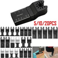 5/10/20PCS Saw Blades Oscillating Multi Tool Multimaster Wood Cutting Tool Kit